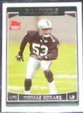2006 Topps Rookie Thomas Howard #335 Raiders