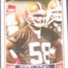2006 Topps Rookie D'Qwell Jackson #325 Browns