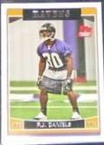 2006 Topps Rookie P.J. Daniels #324 Ravens