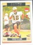2006 Topps Rookie Mike Hass #313 Saints
