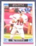 2006 Topps Eli Manning #129 Giants