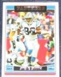 2006 Topps Steve Smith #206 Panthers