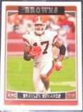 2006 Topps Braylon Edwards #236 Browns