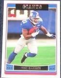 2006 Topps Tiki Barber #244 Giants