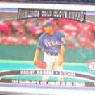 2006 Topps Gold Glove Award Kenny Rogers #243 Rangers