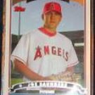 2006 Topps Rookie Joe Saunders #311 Angels