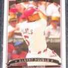 2006 Topps League MVP Albert Pujols #263 Cardinals