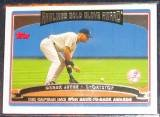2006 Topps Gold Glove Award Derek Jeter #246 Yankees