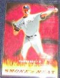 2006 Fleer Smoke 'n Heat Randy Johnson #SH-11 Yankees