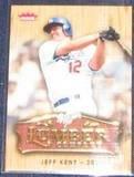 2006 Fleer Lumber Company Jeff Kent #LC-15 Dodgers