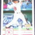 2006 Fleer Rookie Alejandro Machado #297 Red Sox