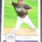 2006 Fleer Rookie Josh Wilson #190 Rockies