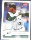 2006 Fleer Carl Crawford #113 Devil Rays