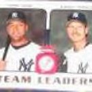 2006 Fleer Team Leaders Jeter/Johnson #TL-18 Yankees