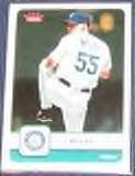 2006 Fleer Gil Meche #180 Mariners