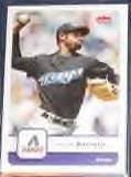 2006 Fleer Miguel Batista #49 Diamondbacks