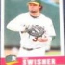 2006 Fleer Tradition Nick Swisher #32 Athletics