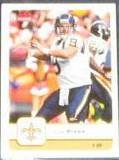 2006 Fleer Drew Brees #81 Saints