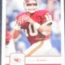 2006 Fleer Trent Green #49 Chiefs