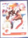 2006 Fleer Reuben Droughns #24 Browns