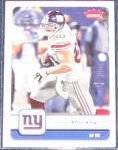 2006 Fleer Jeremy Shockey #66 Giants