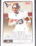 2006 Fleer Futures Rookie Wali Lundy #198 Texans