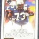 2006 Fleer Futures Rookie Marcus McNeill #167 Chargers
