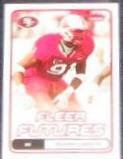 2006 Fleer Futures Rookie Manny Lawson #165 49ers