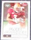 2006 Fleer Futures Rookie Leon Washington #163 Jets