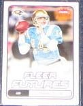 2006 Fleer Futures Rookie Drew Olson #136 Ravens
