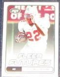 2006 Fleer Futures Rookie Dontrell Moore #134 Jets