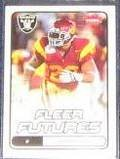 2006 Fleer Futures Rookie Darnell Bing #124 Raiders
