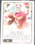 2006 Fleer Futures Rookie D.J. Shockley #123 Falcons