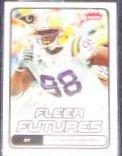 2006 Fleer Futures Rookie Claude Wroten #121 Rams
