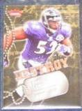 2006 Fleer Seek and Destroy Ray Lewis #SD-RL Ravens