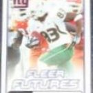 2006 Fleer Futures Rookie Sinorice Moss #186 Giants