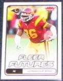 2006 Fleer Futures Rookie Dominique Byrd #133 Rams