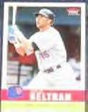 2006 Fleer Tradition Carlos Beltran #104 Mets