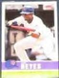 2006 Fleer Tradition Jose Reyes #102 Mets