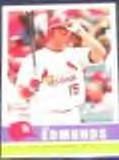 2006 Fleer Tradition Jim Edmonds #49 Cardinals