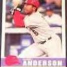 2006 Fleer Tradition Garret Anderson #17 Angels