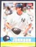 2006 Fleer Tradition Randy Johnson #198 Yankees