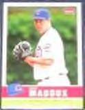 2006 Fleer Tradition Greg Maddux #58 Cubs