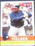 2006 Fleer Trad. Rookie Prince Fielder #40 Brewers