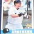 2006 Fleer Trad. Rookie Brian Anderson #193 White Sox