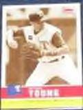2006 Fleer Tradition Sepia Michael Young #141 Rangers