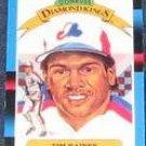 1988 Donruss Diamond Kings Tim Raines #2 Expos