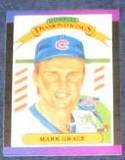 1989 Donruss Diamond Kings Mark Grace #17 Cubs