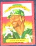 1990 Donruss Diamond Kings Dave Stewart #6 Athletics