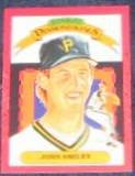 1990 Donruss Diamond Kings John Smiley #17 Pirates